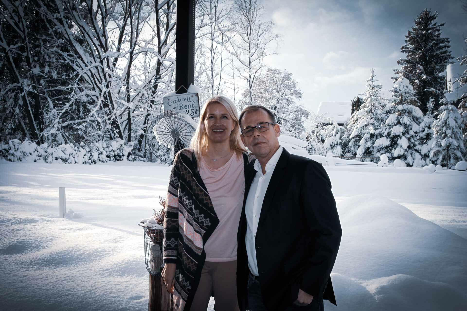 Ö3-Interview mit Claudia Stöckl und Gernot Schweizer