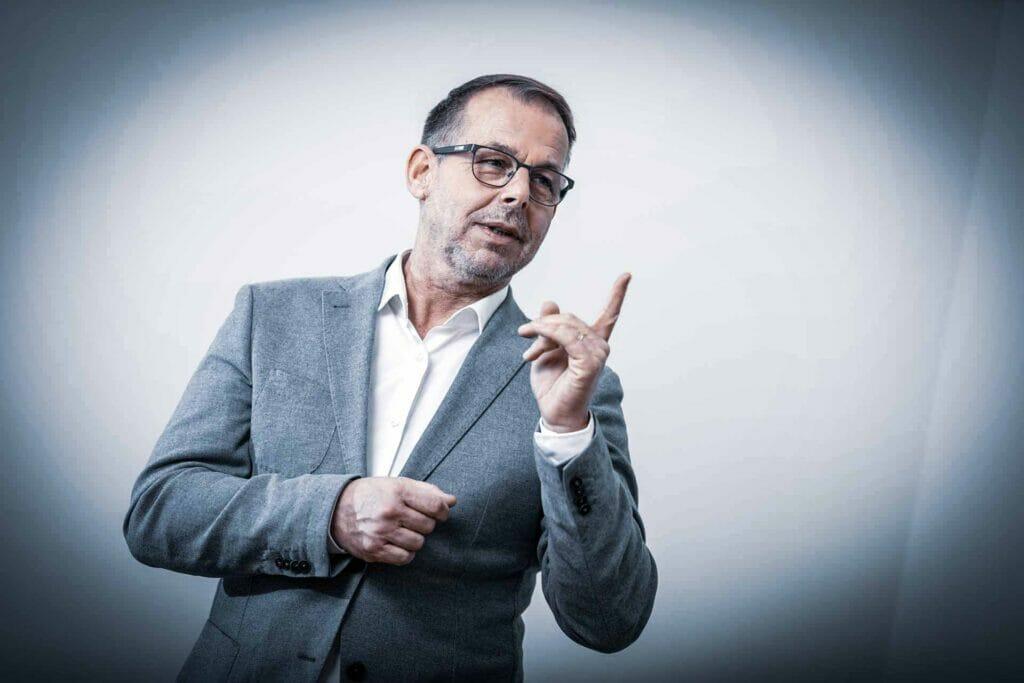 Gernot Schweizer als Speaker