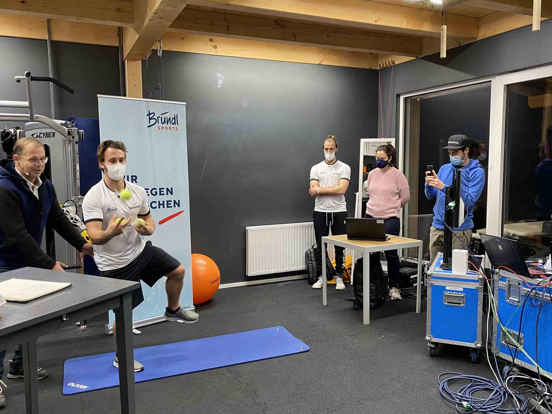 Beitragsbild Online-Vortrag mit Bründl Sports