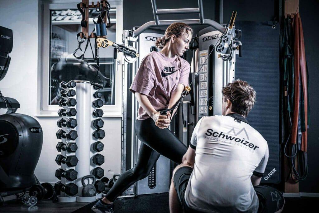 Personal Training bei Team Schweizer