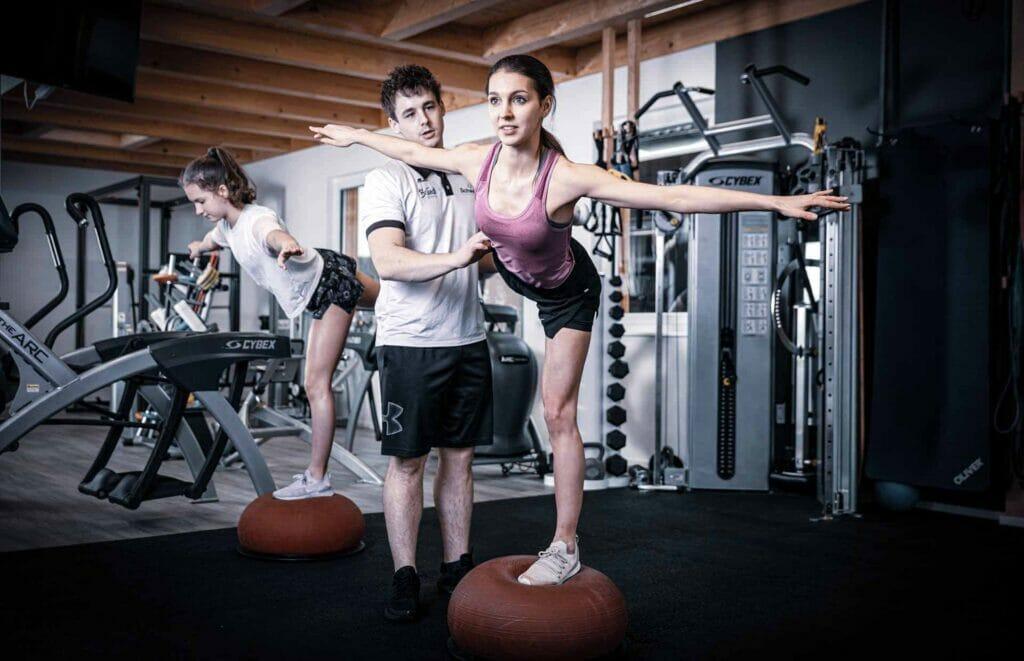 Fitness-Training bei Team Schweizer