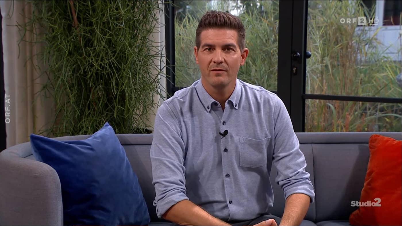 Beitragsbild ORF Studio 2: Gernot Schweizer im Interview