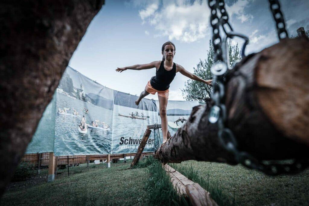 Outdoor Balance-Training bei Gernot Schweizer