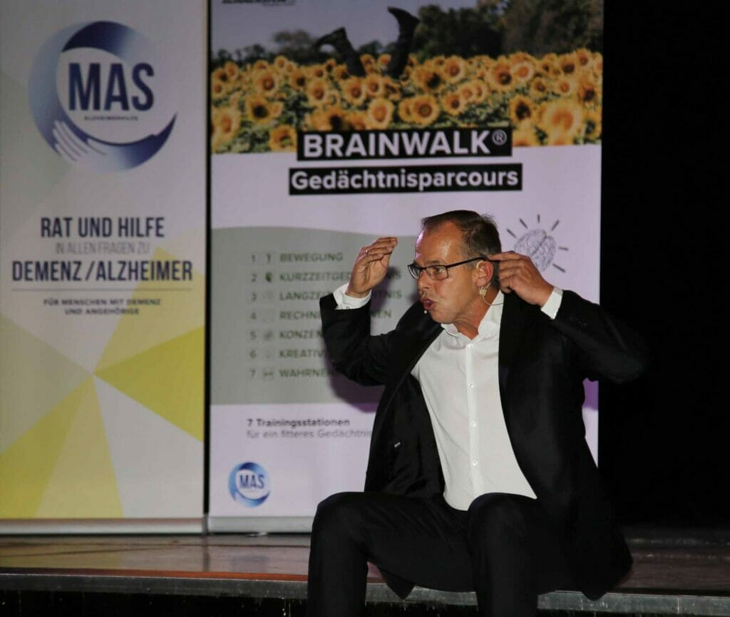 Vortrag Bewegung gegen Demenz von Gernot Schweizer